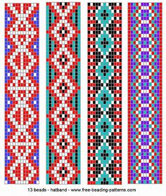 navajo bead designs. A44262 - Friendship-bracelets.net | PATTERNS Pinterest Alpha Patterns And Navajo Bead Designs