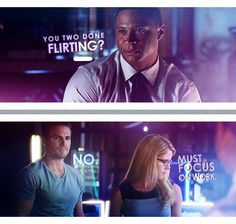 Arrow - Oliver, Felicity & Diggle #Olicity