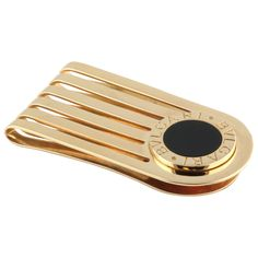 Gold Plated Oregon State Money Clip