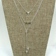 Necklace set #beautiful #crystal #rhinestone #jewelry for #weddings #proms #pageants or any #event Jewelry Necklaces