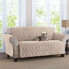 Plush Pet Sofa Cover
