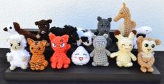 Fruits Basket Zodiad Animals posted by MiaHandcrafter.  FREE PATTERNS 12/14.