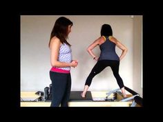 ▶ Pilates Reformer For The Perfect Butt - Part 3 - YouTube
