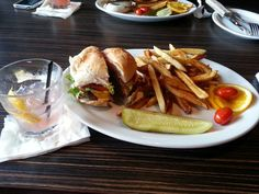 Old fashion bacon cheeseburger and fries :)