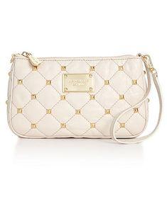 7c40b6658cc6ac MICHAEL Michael Kors Handbag, Quilted Stud Wristlet - Sale & Clearance  - Handbags &
