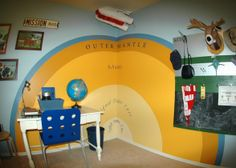 boys science room | ... . It is decor that is both educational and fun! , Boys' Rooms Design
