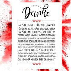 Thank you art print-Danke Kunstdruck Thank you art print – Order art prints now in the shop Close Up GmbH - Love Quotes, Inspirational Quotes, Boyfriend Texts, Sister Love, Baby Scrapbook, Jar Gifts, Great Christmas Gifts, Positive Vibes, Breakup