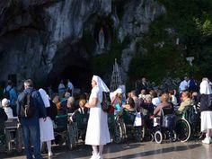 Malati a Lourdes