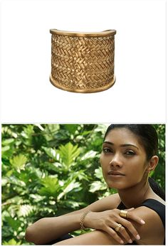 Ring 'Palmyrah' Gold