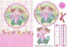 Wendy s Walkabout Card Topper Decoupage on Craftsuprint - View Now!