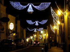 #Carquefou (44), illuminations 2010, réalisation Groupe Leblanc Illuminations. #guirlande #illuminations #led #Noël #illumination #lighting #light #christmas #xmas #del