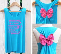 Hey, I found this really awesome Etsy listing at https://www.etsy.com/listing/227606422/cinderella-disney-princess-bow-tank-top