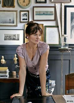 Helena Christensen's smokin' style extends to her homes too, with special vintage treasures scattered throughout all her interiors.