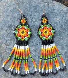 Peyote Stitch Handmade Native Huichol Beaded by MiCasitaDeChaquira, $23.00