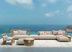 New modular furniture garden armchairs Ideas Furniture Styles, Cool Furniture, Outdoor Furniture Sets, Furniture Design, Metal Furniture, Outdoor Lounge, Outdoor Living, Outdoor Decor, Gardens
