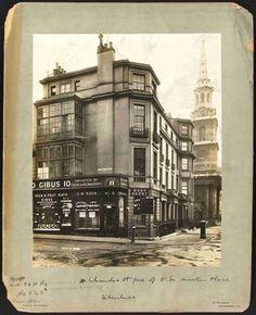 Chandos Street, face of 8 St Martins 1904