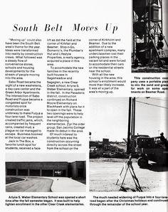 South Belt Moves Up