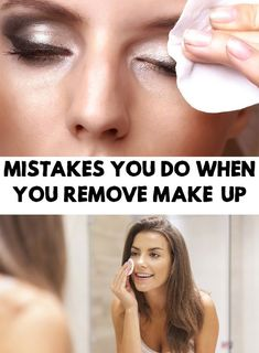 Mistakes You Do When You Remove Make-up Whatever the season, your skin needs special care. Weather conditions, creams and make-up that you use can do more harm than good if you don't properly cleaning your skin. Natural Health Tips, Natural Health Remedies, Natural Skin, Natural Women, Natural Beauty, Healthy Lifestyle Motivation, Healthy Lifestyle Tips, Women Lifestyle, Routine