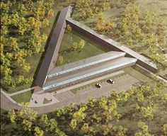 These are Coffey Architects' vision in relation to RIBA's competion for a new RSPCA Animal Centre of the Future. The scheme proposes a new kind of animal centre, a prototype that can be… Different Types Of Animals, Roof Structure, Roof Panels, Peaceful Places, Cat Face, Animal Welfare, Architects, Centre, Future