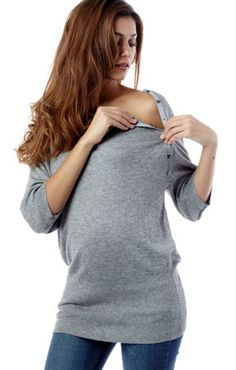 Love this for days when you want to look cute AND breastfeed =) looks like its bump approved too