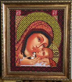 Icon Mother of God Holy Virgin Maria russia Byzantine orthodox Russe icone Ikona