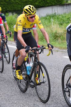 #TDF2016 / Stage 10 Christopher FROOME Yellow Leader Jersey/ EscaldesEngordany Revel / TDF /