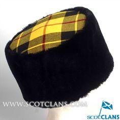 MacLeod Tartan Pillbox Hat