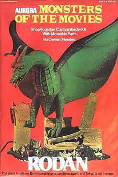 Aurora - Rodan - Aurora's Monsters of the Movies