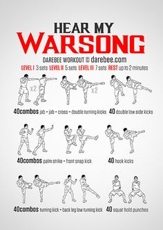 Hear My Warsong Workout