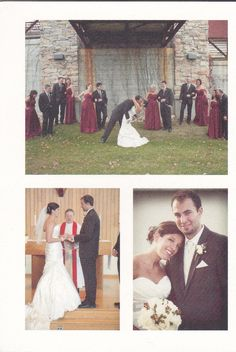 Love the idea of seeing more of the wedding pics in the Thank You card!