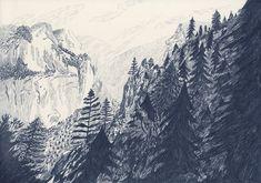Tenaya Canyon by Liam Stevens