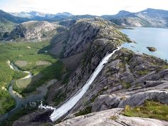 Stora Sjöfallet National Park, Sweden - Stour Muorkkegårttje is the mighty waterfall there and is the main reason it became a national park