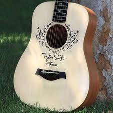 Taylor Swift Signature Baby Taylor Guitar at GoDpsMusic.com