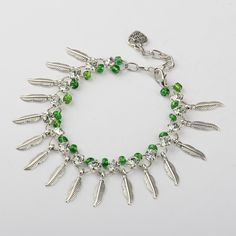 PandaHall Jewelry—Glass Seed Beads Charm Bracelets with Brass Rhinestone Links andTibetan Style Pendants   PandaHall Beads Jewelry Blog