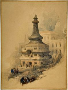 """Oriental Scene""  by David Roberts"