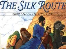 Trade Along the Silk Roads  Book by John Major, illustrated by Stephen Fieser.
