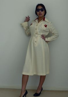 The Secretary Vintage Dress by Peaceloveheart on Etsy, $75.00