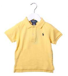 Ralph Lauren Yellow Classic Polo Shirt