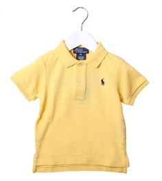 Ralph Lauren Yellow Classic Polo Shirt