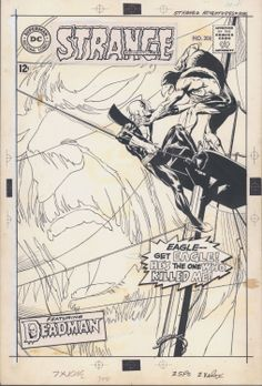 Neal Adams: Strange Adventures #208 from KochComicArt by Neal Adams