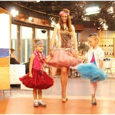 DOLLY & TV morning show, girls showing DOLLY skirts Morning Show, Red Queen, Ballet Skirt, Cat, Princess, Girls, Fashion, Toddler Girls, Moda