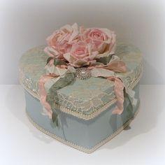 Shabby Chic Box Cottage Chic Box Shabby Chic ♥ by uniqueboxboutique, $42.00