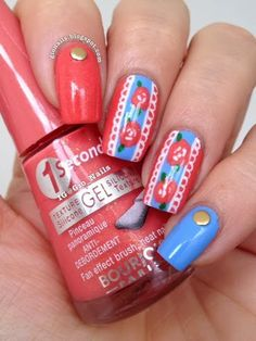 GioNails: Flower & Lace with Bourjois