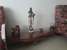 Mesa de canto rustica