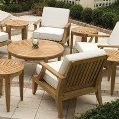 Laguna Teak Deep Seating Outdoor Lounge Chair - Westminster Teak Outdoor Furniture: