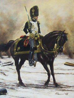 Granatiere a cavallo della guardia imperiale francese- Stefano Manni