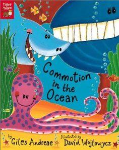 Amazon.com: Commotion in the Ocean (0805428003660): Giles Andreae, David Wojtowycz: Books