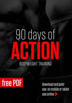 Free 90-day no-equipment training and diet fitness program designed to change your eating and exercise habits as well as the way you look and feel.