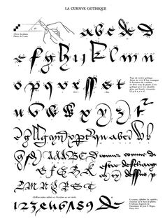 Calligraphie claude mediavilla ductus by Ruben Fernando Olea Ramirez - issuu Gothic Lettering, Script Lettering, Graffiti Lettering, Lettering Styles, Caligraphy Alphabet, Calligraphy Handwriting, Calligraphy Letters, Penmanship, Font Alphabet