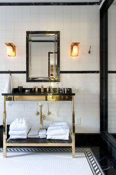 Victorian Home Interior .Victorian Home Interior Art Deco Bathroom, 1920s Bathroom, Attic Bathroom, Waterworks Bathroom, Glamorous Bathroom, All White Bathroom, Bathroom Interior Design, Bathroom Inspiration, English Tudor